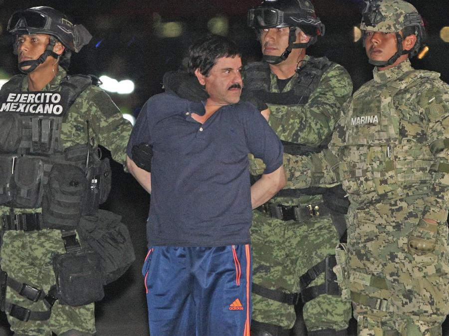 chapo detenido