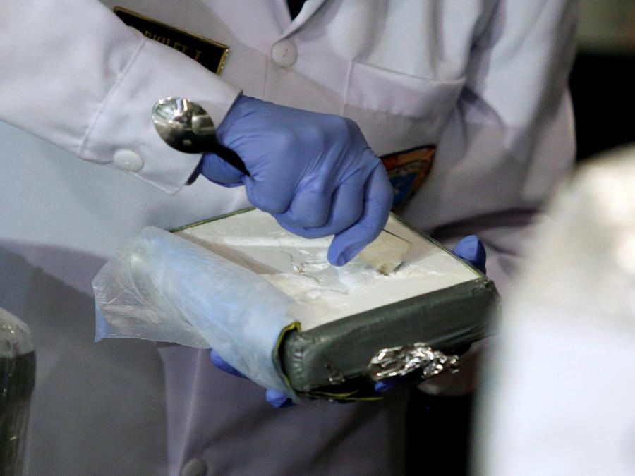 paquete de cocaina