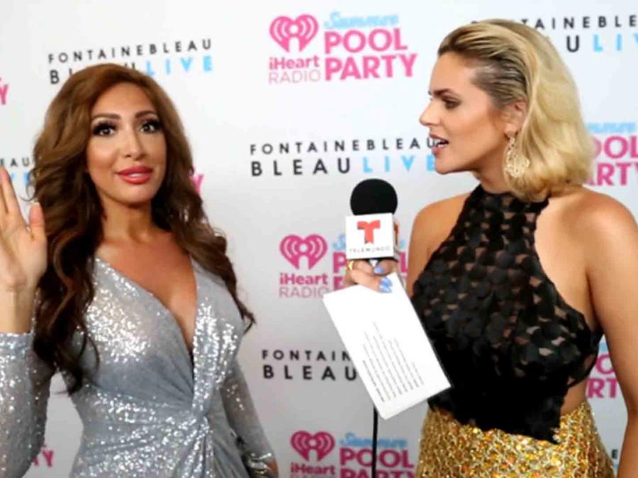 Farrah Abraham e Isabella Castillo en iHeart Radio's Pool Party