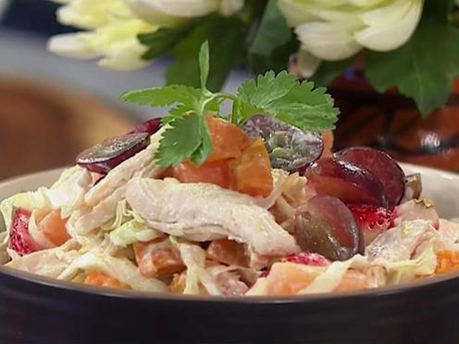 Recetas de cocina: Ensalada de Pollo y Uvas