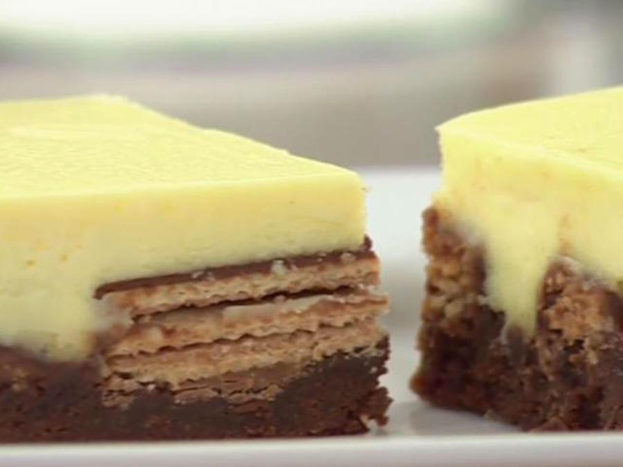 Recetas de cocina: Barras de cheesecake y KitKat®
