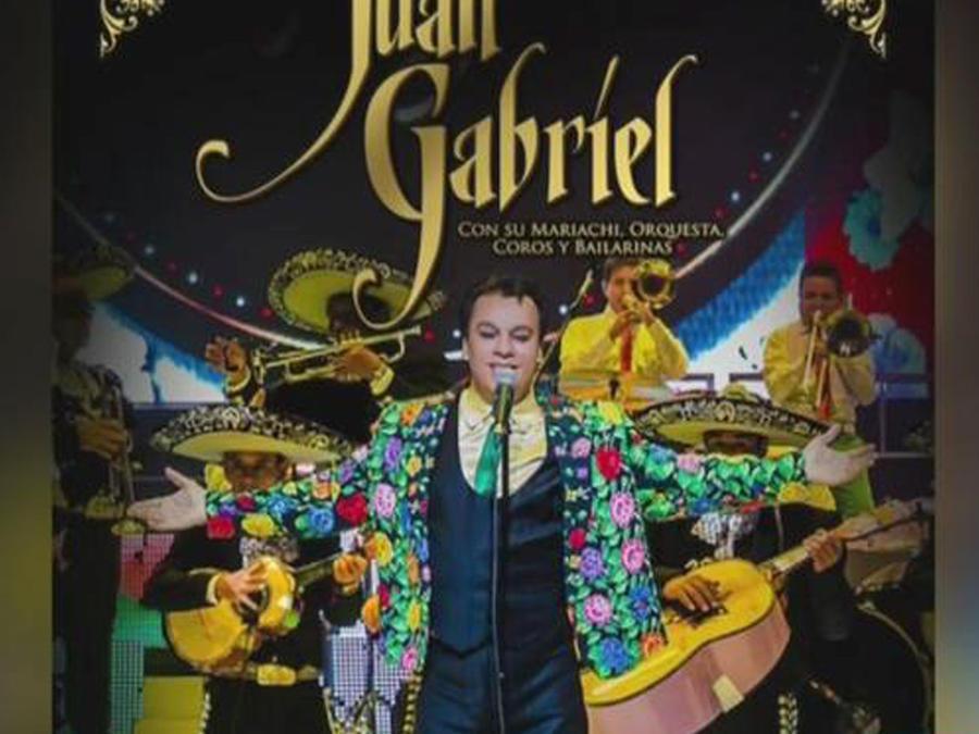 Juan Gabriel comienza una nueva gira por México y USA