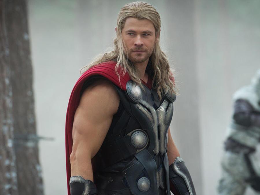 "Chris Hemsworth interpreta a ""Thor"""