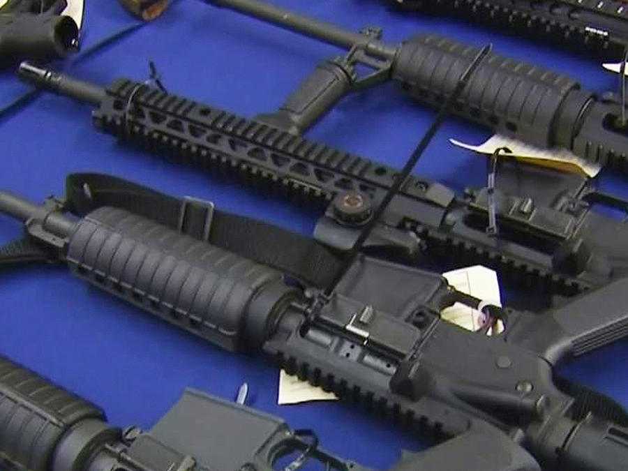 armas de pandilleros de mafia mexicana