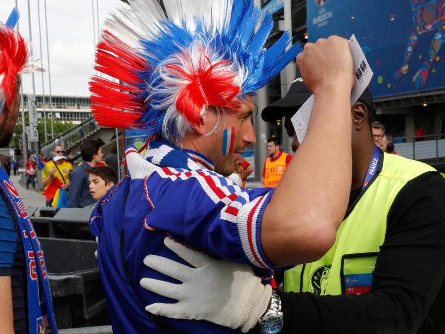 seguridad en eurocopa