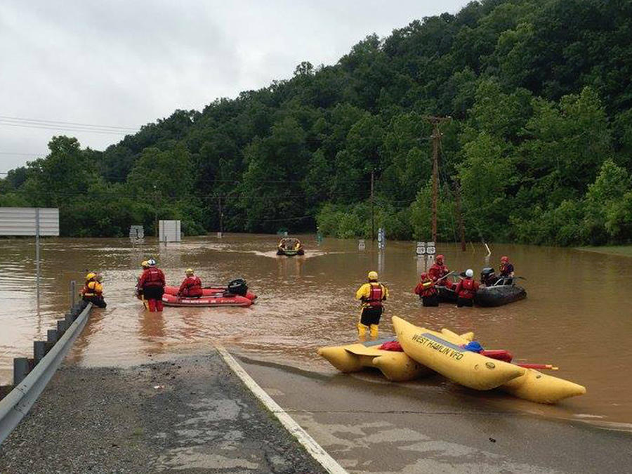 inundaciones virginia