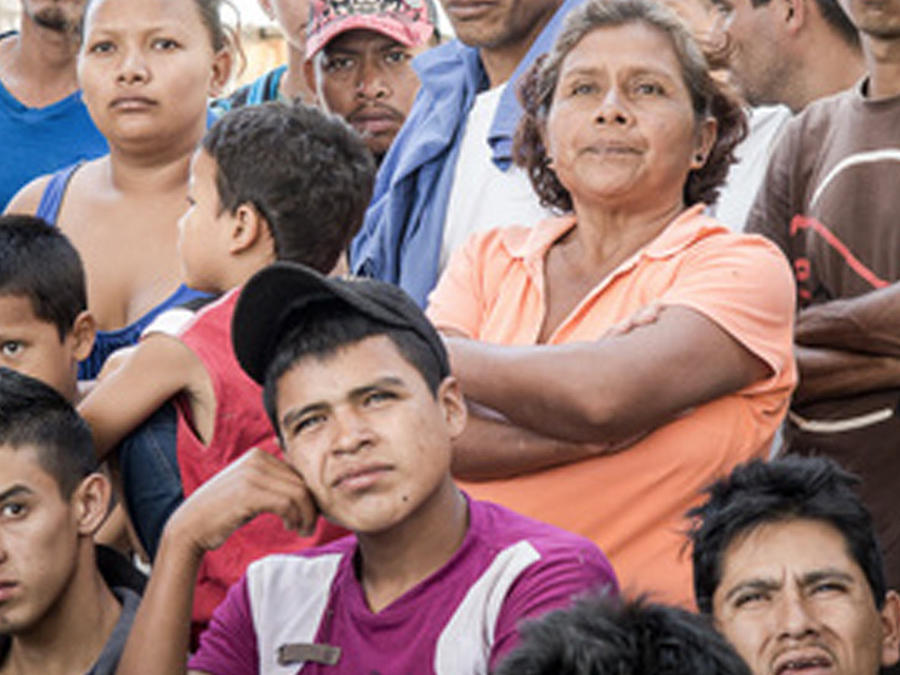 refugio hermanos en la frontera