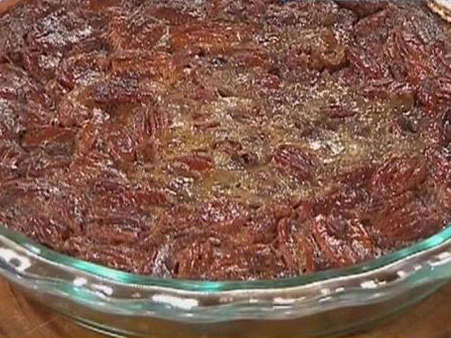 Recetas de cocina: Tarta de Pacanas con Helado