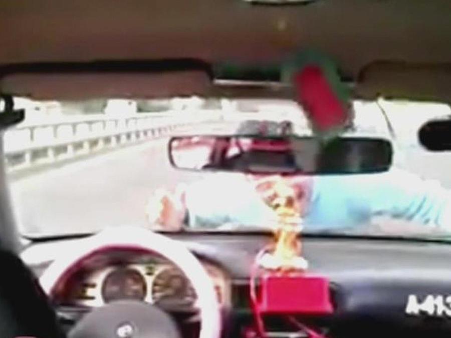 taxista acrobata