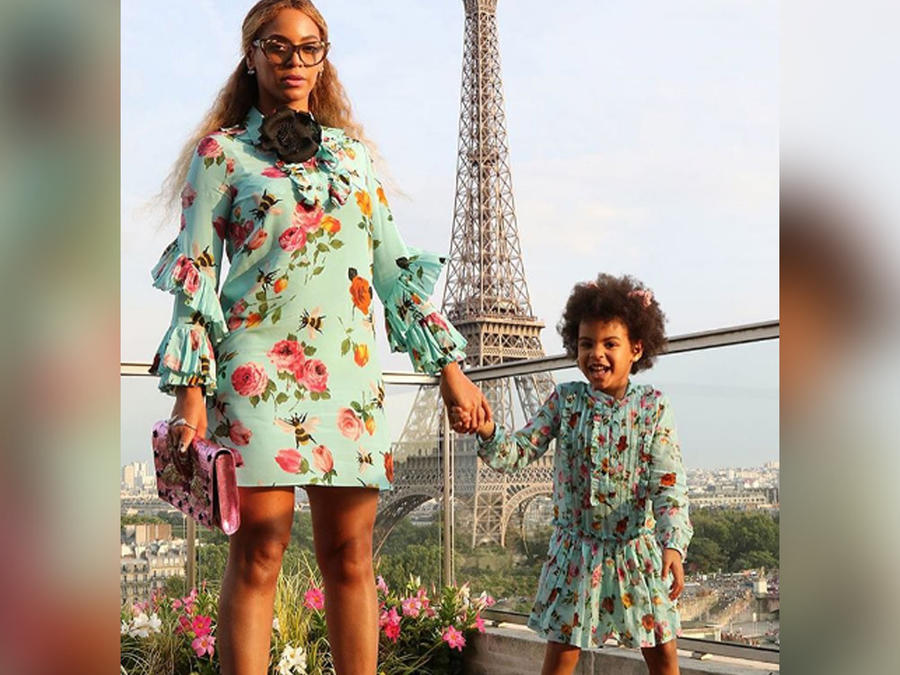 beyonce y su hija