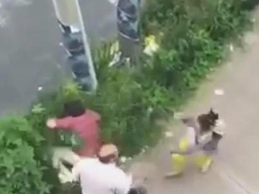 chofer golpea a peatones