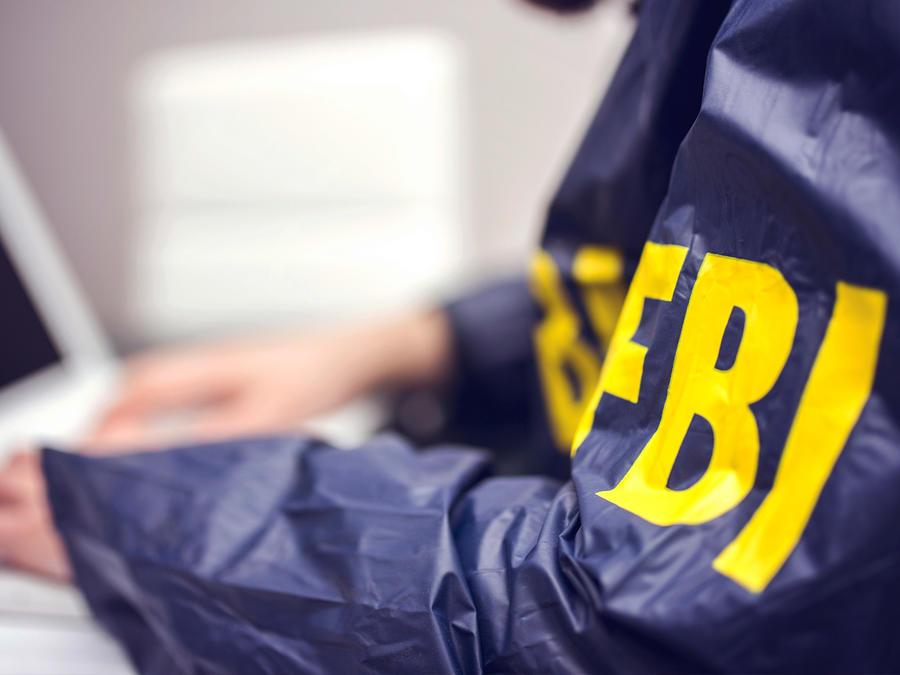Imagen de archivo de un agente del FBI.
