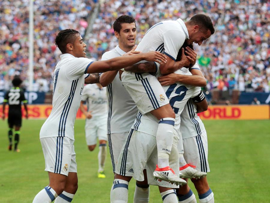 El Real Madrid derrota al Chelsea 3-2 en amistoso