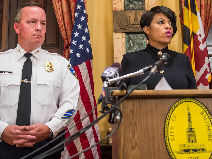 policia de baltimore