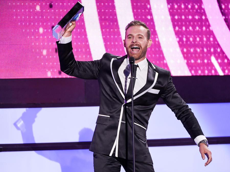 Luis Ernesto Franco en Premios Tu Mundo 2016