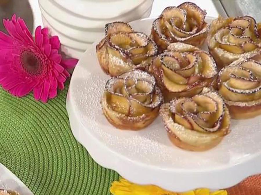 Recetas de cocina: Cómo hacer Rositas de Manzana