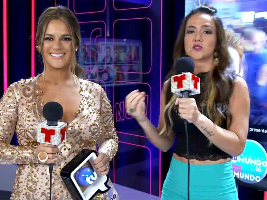 Sabrina Seara y Kelly Peñaranda en Premios Tu Mundo 2016