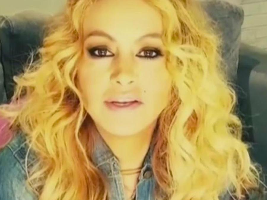 Paulina Rubio dedica amor eterno a Juan Gabriel