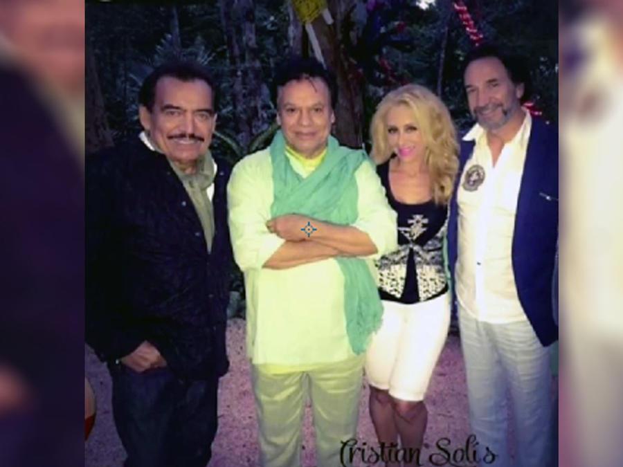 Foto Marco Antonio Solís, Juan Gabriel y Joan Sebastian