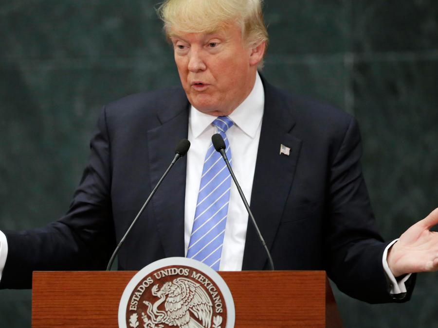 Largo historial de agravios de Trump contra mexicanos