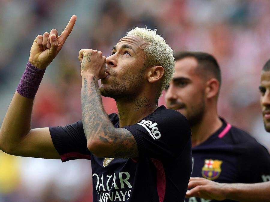 El Barca golea al Sporting de Gijón