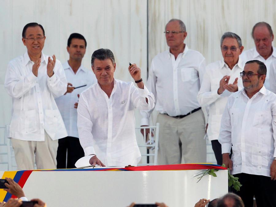 colombia firma la paz