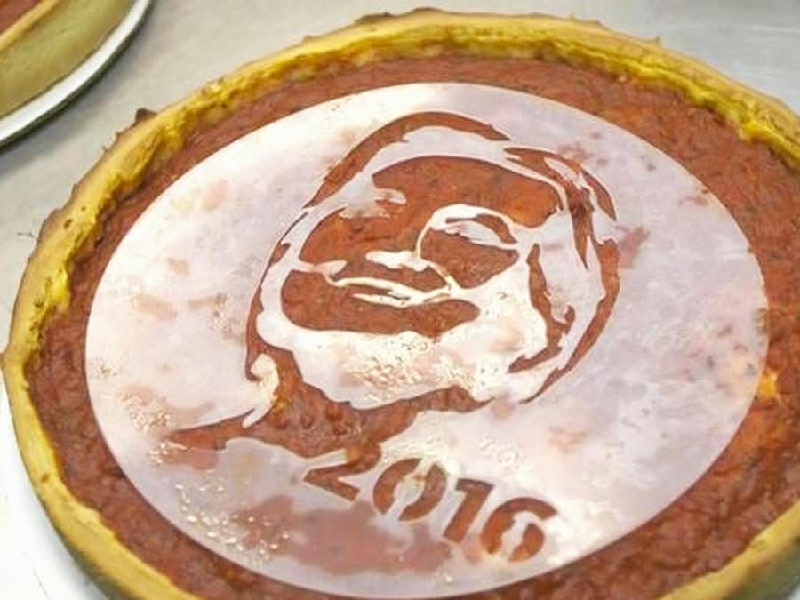 pizzas clinton y trump