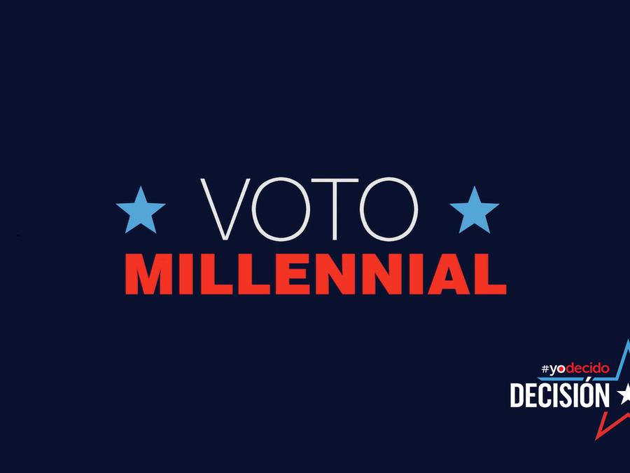 La importancia del voto millennial latino
