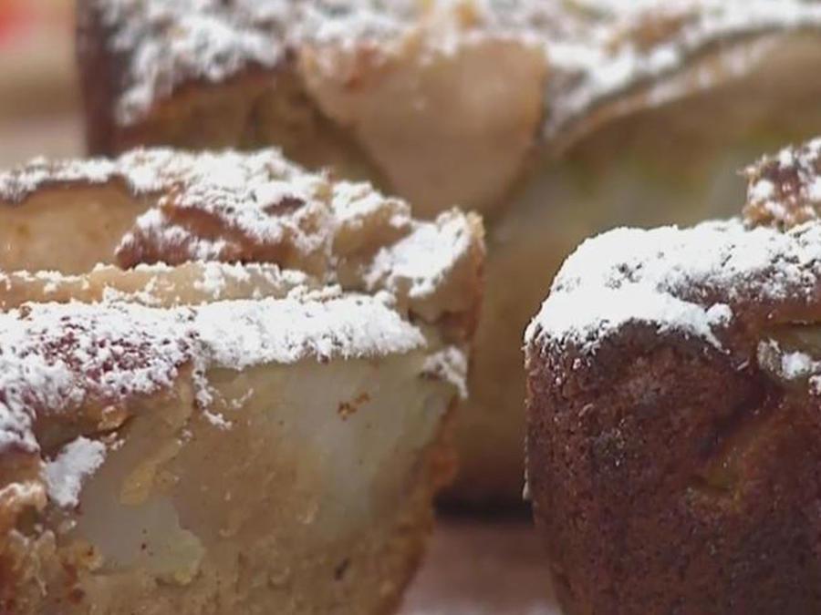 Recetas de cocina: Cómo hacer Pastel de Yoghurt y Peras