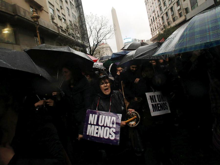 mujeres contra el feminicidio