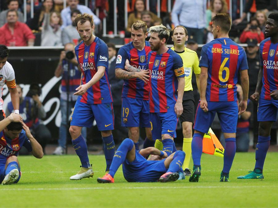 barcelona vence al valencia