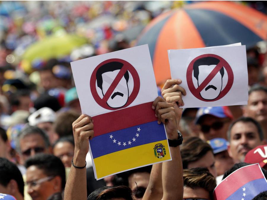 venezuela contra maduro