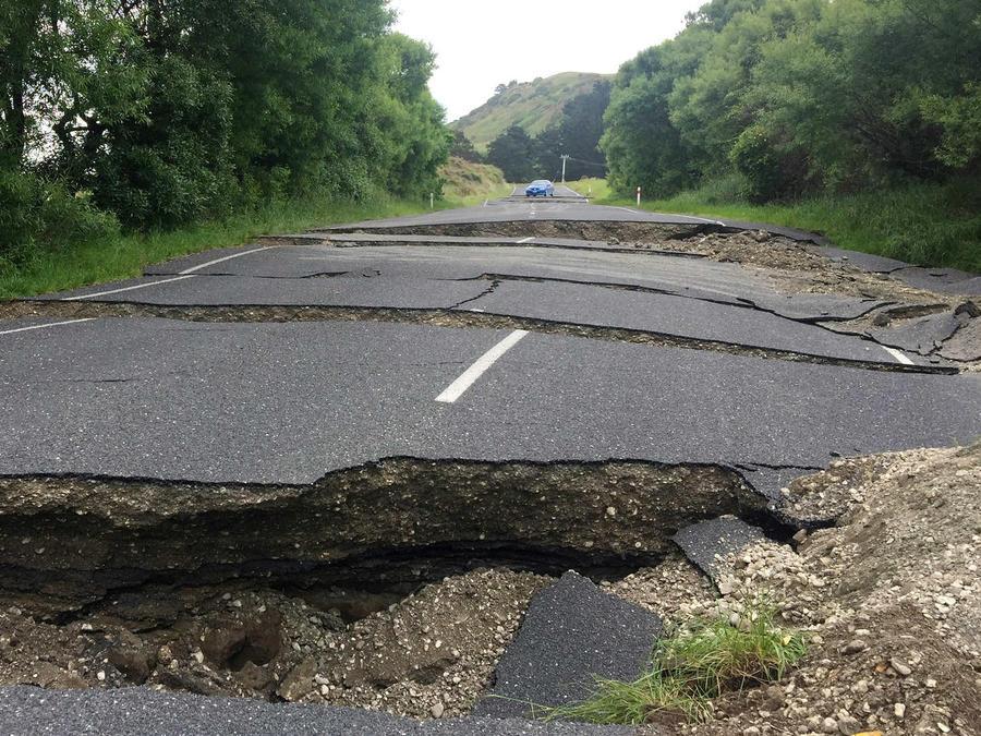 Terremoto en Nueva Zelanda