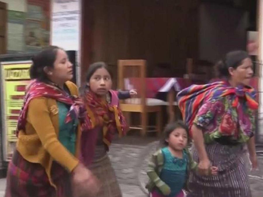Guatemaltecas batallan por derechos