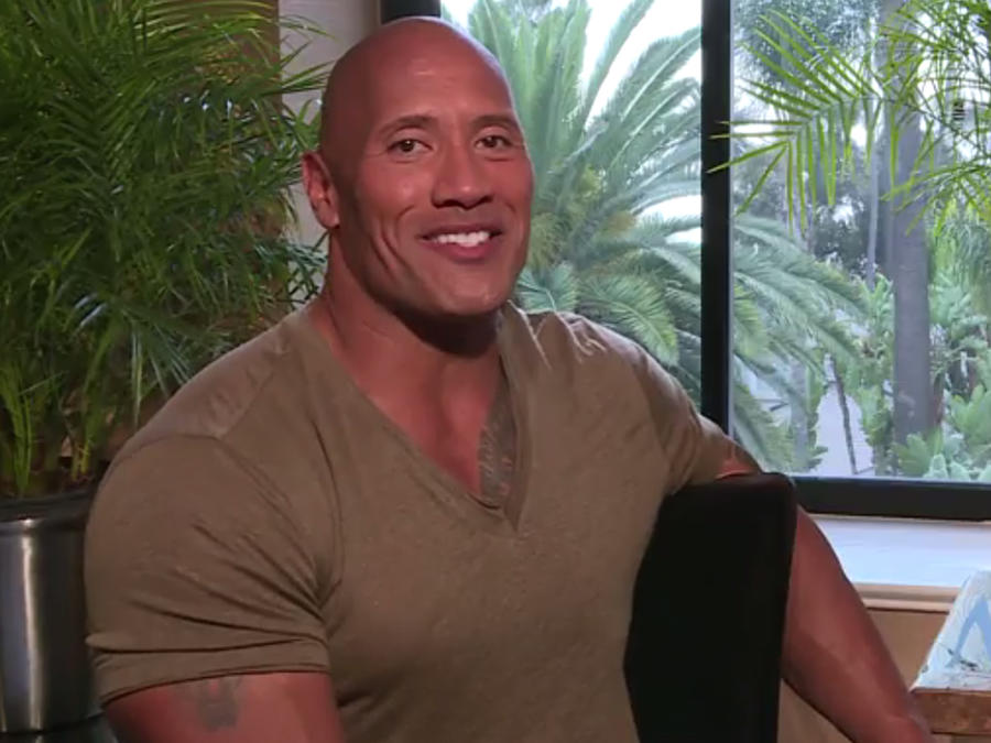 "Dwayne ""The Rock"" Johnson dice que Lin-Manuel Miranda lo ayudó a cantar en ""Moana"""