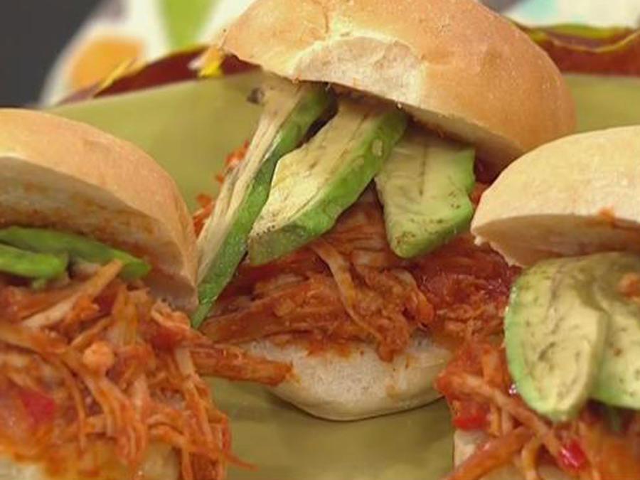 Recetas de cocina: Sándwich de Pavo Desmechado