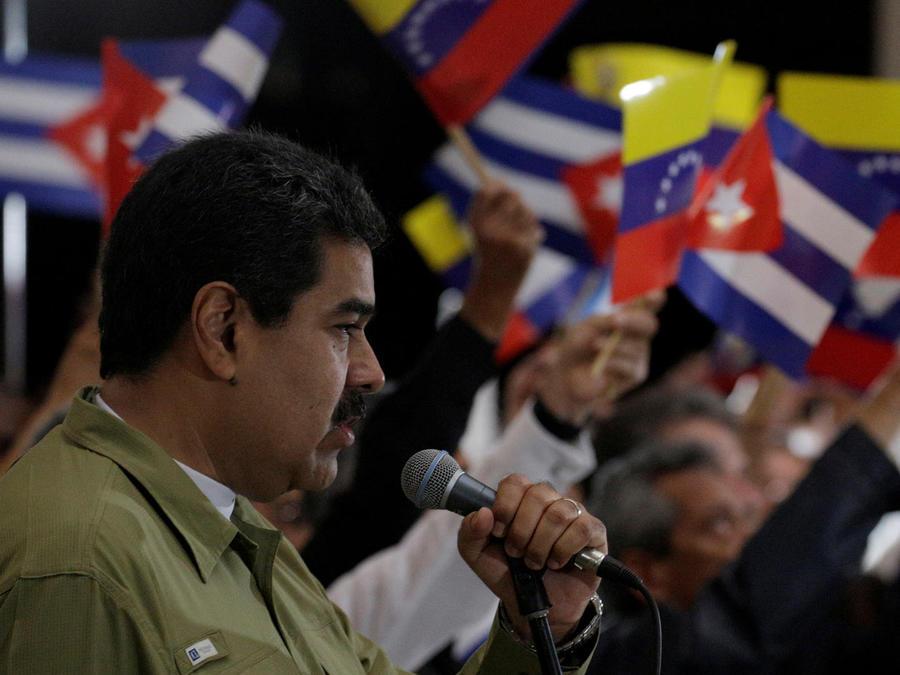 venezuela lamenta muerte de castro
