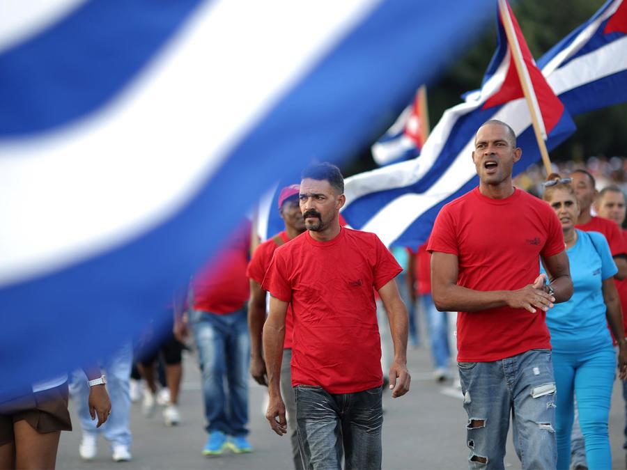 cubanos tributo a fidel