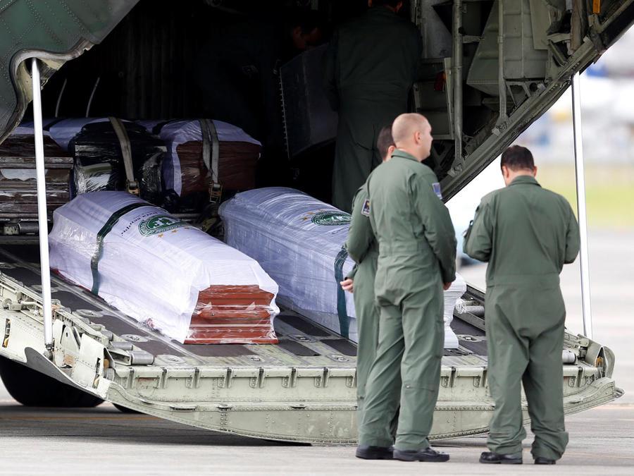colombia repatria cuerpos a brasil