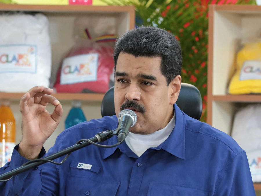 Maduro anuncia billetes más grandes