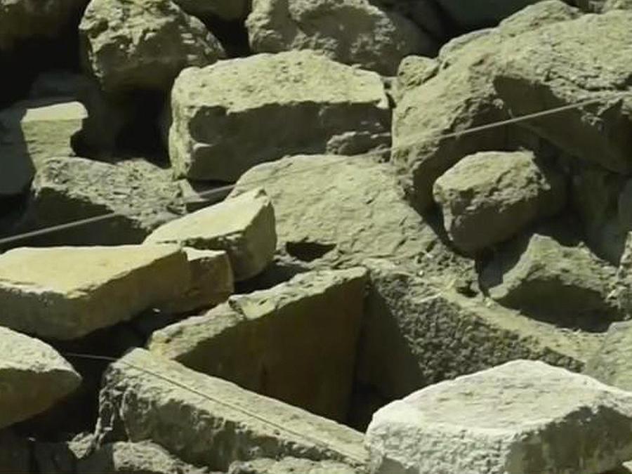 Templo azteca descubierto en la Ciudad de México.