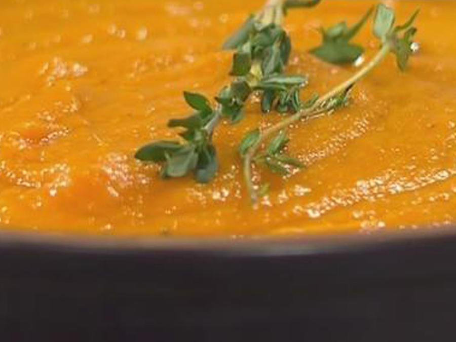 Recetas de cocina: Crema de Zanahoria y Jengibre