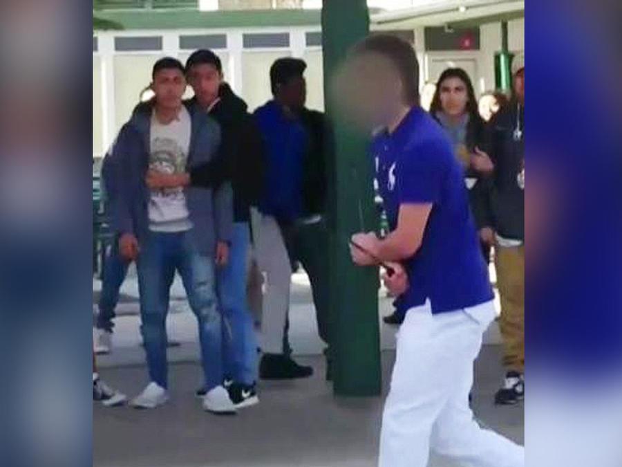 policia dispara a estudiante