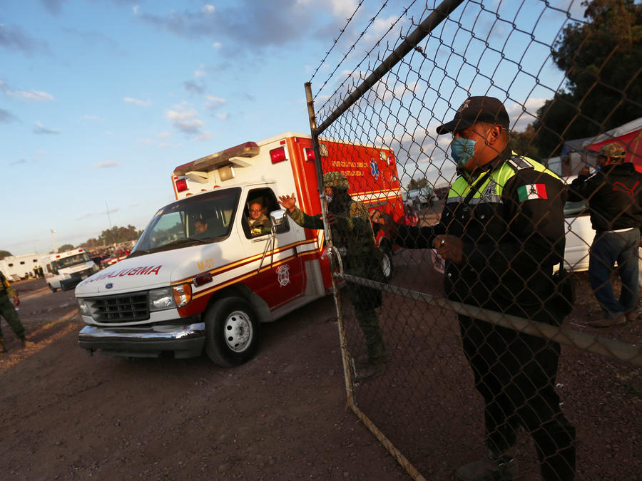 hospital de texas recibe niños quemados