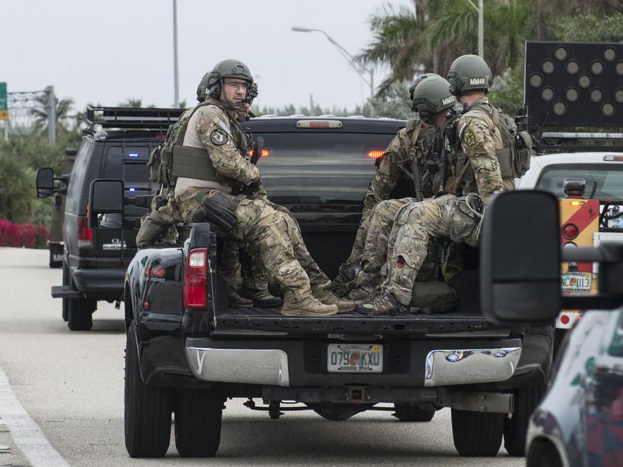 movimiento militar en fort lauderdale