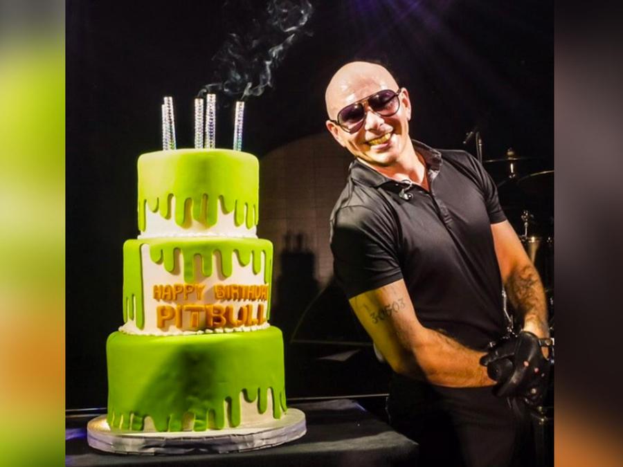 pitbull celebra cumpleaños