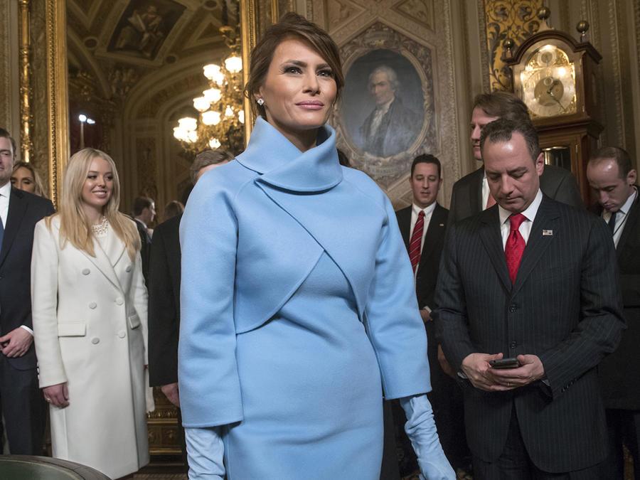 A muchos les interesa cómo se visten las mujeres de Trump