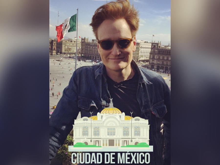 Conan O'Brien visita México