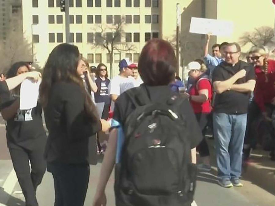 Las protestas se hacen sentir en Dallas