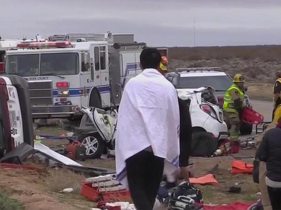 accidente desierto california